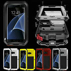 Shockproof Aluminum Heavy Duty Gorilla Metal Hard Case Cover For iPhone /Samsung