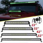 "5D CREE RGB 22inch/32""/42""/50""/52""inch 4"" LED Light Bar Offroad Driving ATV 18W"