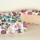 Hard Shell Pretty Floral Glasses Case  (72-JD55819)