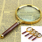 New 90mm Handheld 10X Magnifier Magnifying Glass Loupe Reading Jewelry 2016 Hot