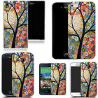 art case cover for many Mobile phones -  floral tree silicone