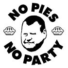 Funny No Pies No Party Wayne Shaw Sutton United Roly Poly Goalkeeper T-Shirt