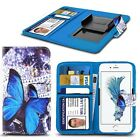 "For Huawei Mate 9 Porsch (5.5"") - Design Pattern Printed Clamp Wallet Case Cover"