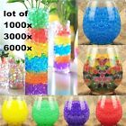 6000PCS MAGIC PLANT CRYSTAL SOIL MUD BALLS WATER BEADS PEARL WEDDING DECOR B52K