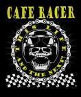 Cafe Racers T-Shirt Aged Look Biker 60's  Ace  3XL 4XL 5XL This Life $18.99 USD on eBay