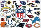 NFL Team Logo's Poster Art Prints A2 A3 A4 A5 Buy 1 get 2 FREE $18.64 USD on eBay