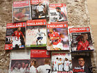 England Home Programmes 2001-2010  Select Yours