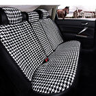 Universal Fit 5 Seat Plush Front Rear Car Seat Cushion Cover 11Pcs/Set For 99% 5