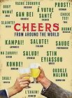 CHEERS FROM AROUND THE WORLD BAR MAN CAVE METAL PLAQUE SIGN VINTAGE RETRO 181