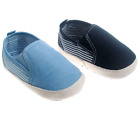 BABY BOYS PRAM SHOES,INFANTS STRIPE SLIP ON CHRISTENING BAPTISM WEDDING PARTY