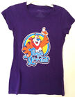 KELLOGGS FROSTED FLAKES TONY THE TIGER GRAPHIC TEE T-SHIRT WOMENS THEY'RE GREAT
