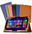 """Print Flower PU Leather Case Folio Cover for 12"""" inch Chuwi Hi12 Dual OS Tablet"""