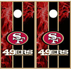 San Fransico 49ers Cornhole Wraps Vinyl Boards Decals Bag Toss Game Stickers