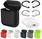 Soft Silicone Gel Case Cover Skin Sleeve For Apple AirPods Earphones Shock proof