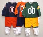 NFL Footysuit Football Player Uniform Footed Body Suit 12 Months $21.99 USD on eBay