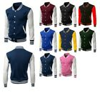 FashionOutfit Men's Casual COTTON College University Varsity Baseball Jacket
