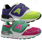 GIRLS BOYS RUNNING TRAINERS INFANTS SHOCK ABSORBING SCHOOL SPORTS SHOES SIZE