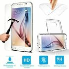 REAL GEL CASE & 100% GENUINE SAMSUNG A3 2016 TEMPERED GLASS SCREEN PROTECTOR