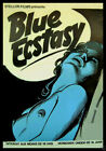Blue Ecstasy FRIDGE MAGNET 6x8 French Porn Movie Poster Magnetic Canvas #68
