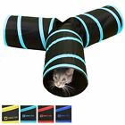 Tunnel of Fun, Collapsible 3-way cat tunnel with crinkle (Medium and Large)