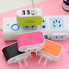 Travel 3-Port USB 5V Wall Charger Adapter EU US Universal For Samsung iPhone HTC