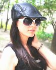 New Fashion Women's Men's (100% Real Leather) Hats / Berets / Newsboy Hat