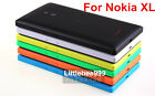 Original NOKIA Lumia XL Back Housing Door Battery Cover Case+ Side Key Buttons