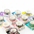 Внешний вид - NEW DIY Floral Washi Sticker Decor Roll Paper Masking Adhesive Tape Crafts Gifts