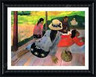 The Midday Nap Siesta by Paul Gauguin   Framed canvas   Wall art oil painting