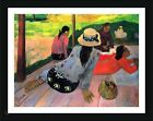 The Midday Nap Siesta by Paul Gauguin | Framed canvas | Wall art oil painting
