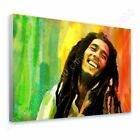 Bob Marley #1 Jamaican Reggae by Alonline DSN | Ready to hang canvas | Wall art