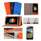PU Leather Case Folio Cover For 6.98'' Lenovo PHAB B1-750M Tablet Phone + Film