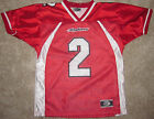 MIAMI UNIVERSITY REDHAWKS YOUTH FOOTBALL JERSEY (OH) NCAA #2 YOUTH L, XL NEW!