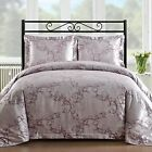Staniey Bedding Silk Feel Cotton Blend 450TC 3piece Duvet Cover Set in Lavender  image