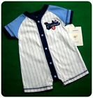 New/NWT~CARTERS~LITTLE ROOKIE~SHORT ROMPER~ONE-PIECE~ BABY BOYS~ SPORTS~BASEBALL