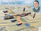 LEGEND OF THE SKIES ROYAL AIR FORCE RAF LANCASTER AIRCRAFT METAL PLAQUE SIGN 923