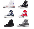 CONVERSE CHUCK TAYLOR ALL STAR HI TOP YOUTHS/KIDS CANVAS SHOES SNEAKERS