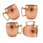 NEW 18.6oz Hammered Moscow Mule Copper Mug Drinking Water Beer Moscow Mule Cups