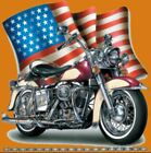 Classic American Motorcycle High Definition Graphic T-shirt S-4XL Size
