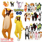 Adult Onesie Kigurumi Sleepwear Pajamas Jumpsuit Anime Animal Cosplay Costume