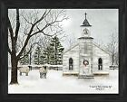 I heard the bells on Christmas day framed print, by artist Billy Jacobs(BJ1098A)