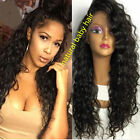 """10""""-22"""" Brazilian Curly Human Hair Lace Front Wig /Full Lace Wigs"""