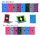 Defender Rugged Hard Shell Case For Ipad Air Ipad Mini 4 (stand Fits Otterbox)