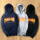 Men Women Hoodie Sweater Hip-hop Skateboard Thrasher Sweatshirts Pullovers 2018