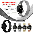 Stainless Steel Milanese Loop Watch Band Strap For Motorola Moto 360 (2nd Gen.) image