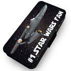 #1 Star Wars Fan . Printed Faux Leather Flip Phone Cover Case #1 on eBay