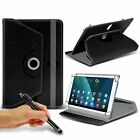 "For Dell Streak 7 (7.0"") Tablet Case Cover 360 Rotating Stand Wallet + Pen"