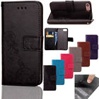 Floral Pattern PU Wallet Leather Magnetic Flip Stand Case For iPhone 6 6s 7 Plus
