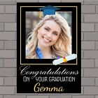 Personalised Congratulations Graduation College University Poster Banner N147