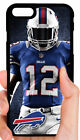 BUFFALO BILLS PLAYER NFL PHONE CASE FOR iPHONE XS MAX XR X 8 7 6S 6 PLUS 5S 5C 4 $14.88 USD on eBay